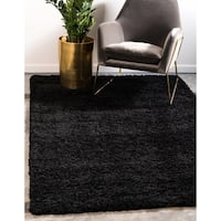 Unique Loom Solid Shag Area Rug - 10' 0 x 13' 0