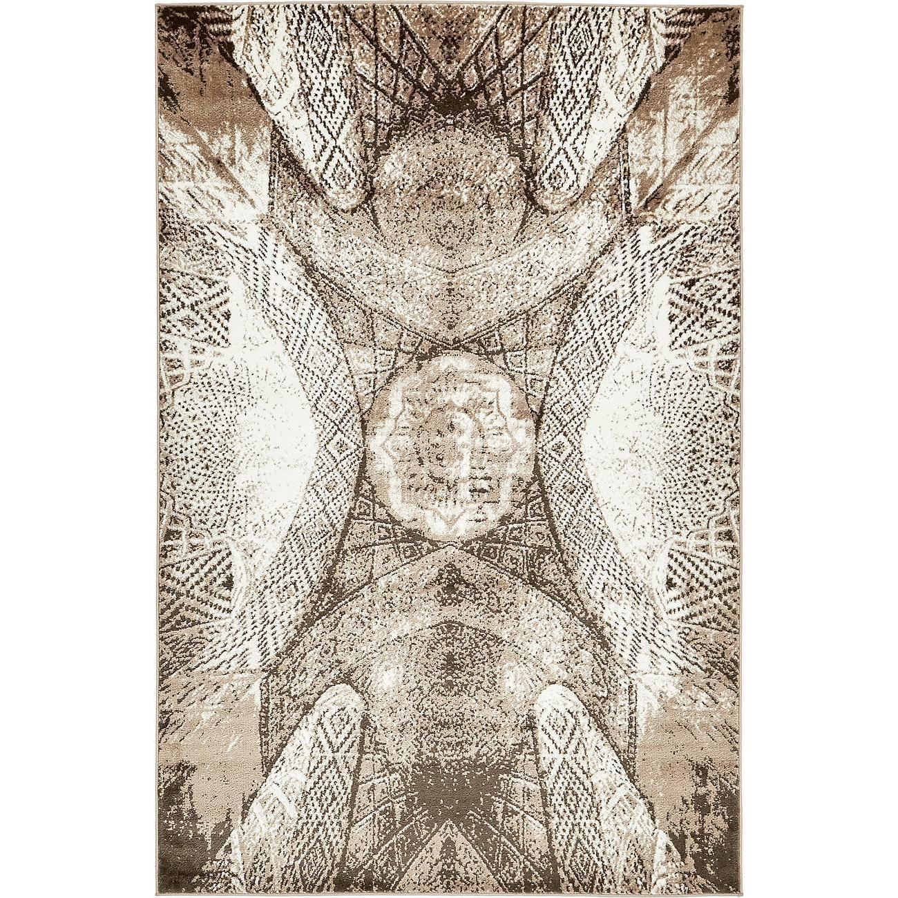 Unique Industries Abstract Medallion Sofia Rug (5' x 8') ...