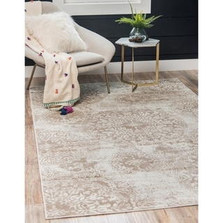 Overdyed Medallion Sofia Rug (5' x 8')