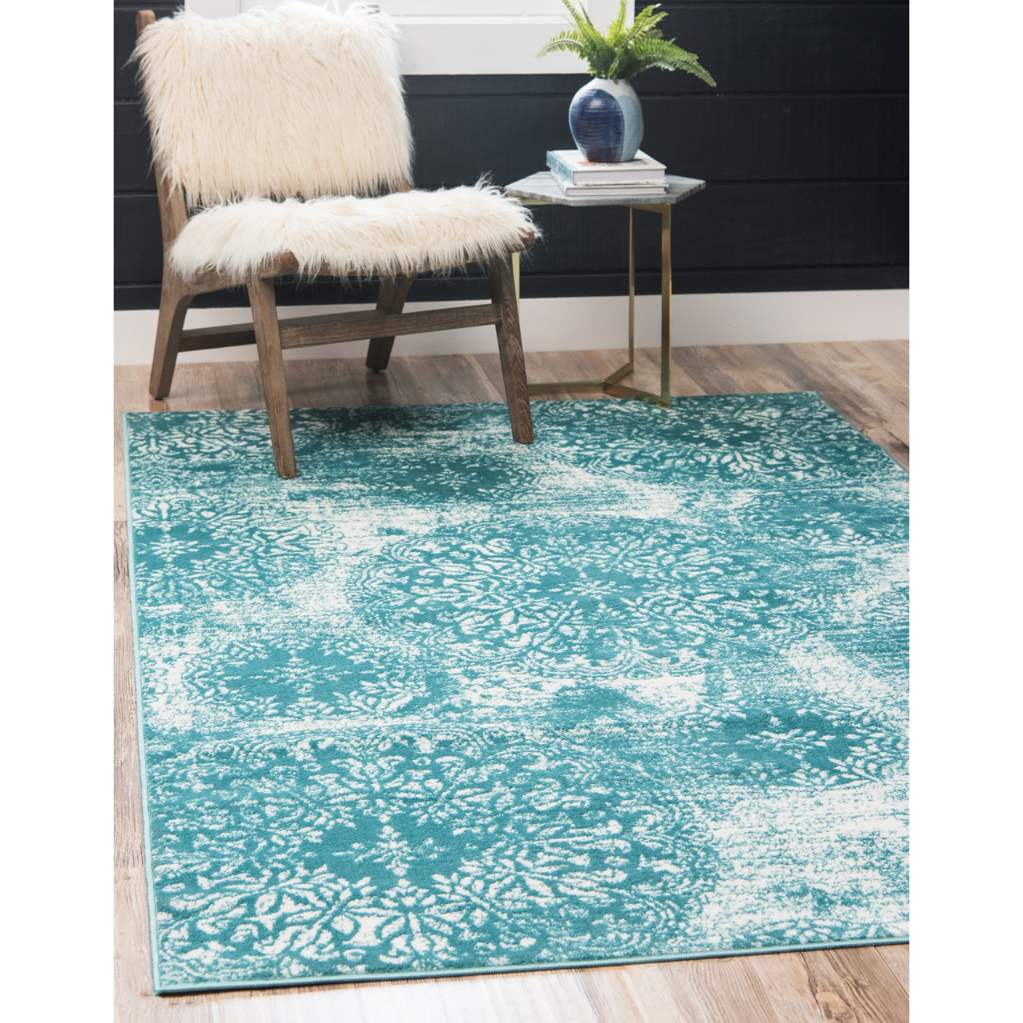 Teal Rugs & Area Rugs For Less | Find Great Home Decor Deals ...
