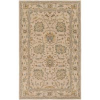 Hand-Tufted Merilis Wool Area Rug - 6' x 9'