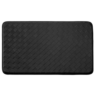 "Chef Gear Faux-Leather Diamond Weave 18 x 30 in. Comfort Chef Mat - 1'5"" x 2'5"""