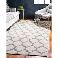 Unique Loom Philadelphia Trellis Area Rug - 7' x 10'