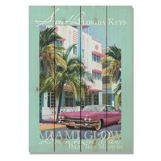 South Florida Keys 14x20 Indoor/Outdoor Full Color Cedar Wall Art