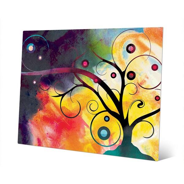 Shop \'Yggdrasil on Sunlight\' Wall Art Print on Metal - Free Shipping ...