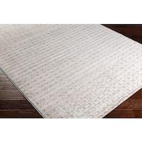 Carson Carrington Porvoo Checkered Abstract Area Rug (7'10 x 10'2)