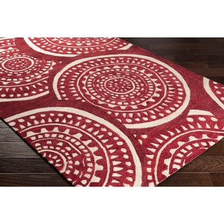 Hand-Tufted Calzona Polyester Rug (8' x 10')