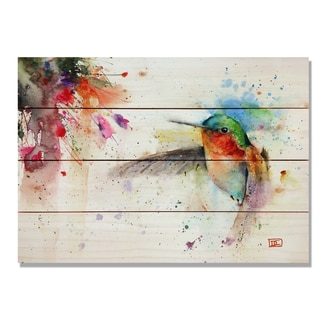 Sig Series The Jewel 20x14 Indoor/Outdoor Full Color Cedar Wall Art