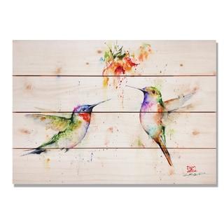 Sig Series Two's Company 20x14 Indoor/Outdoor Full Color Cedar Wall Art