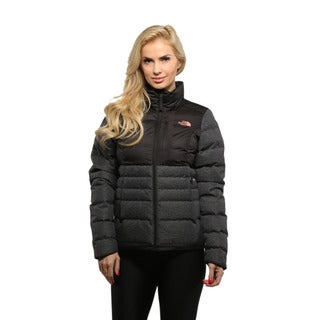 The North Face Women's TNF Black/ Rose Dawn Denali Down Jacket