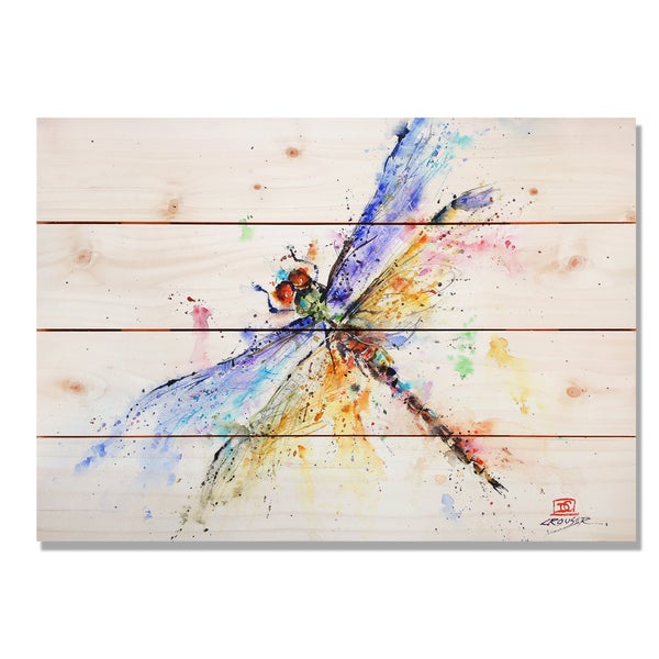 Pond Dragonfly 20x14 Indoor/Outdoor Full Color Wall Art