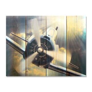 Dive Bomb - 22x16 Indoor/Outdoor Full Color Cedar Wall Art