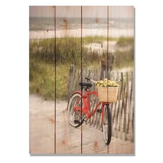 Special Delivery 14x20 Indoor/Outdoor Full Color Cedar Wall Art