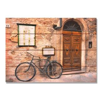 Italian Osteria 14x20 Indoor/Outdoor Full Color Cedar Wall Art