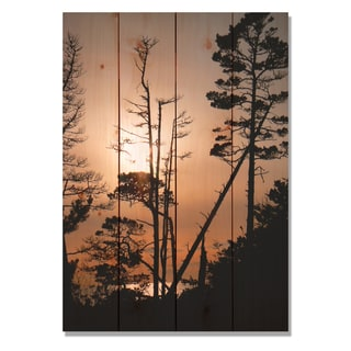 Ocean Forest 14x20 Indoor/Outdoor Full Color Cedar Wall Art