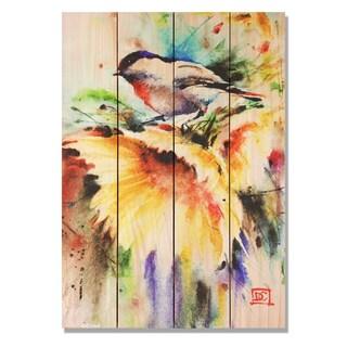 Sunny Day 14x20 Indoor/Outdoor Full Color Cedar Wall Art