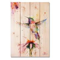 Pee Wee 14x20 Indoor/Outdoor Full Color Cedar Wall Art