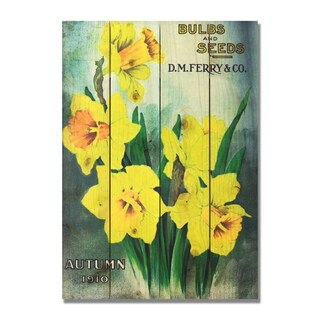 Bulbs & Seed 14x20 Indoor/Outdoor Full Color Wall Art