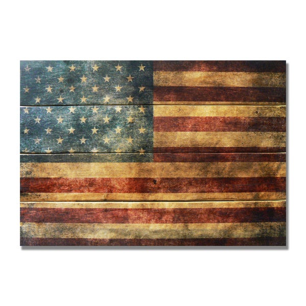 The Patriot 20x14 Indoor/Outdoor Full Color Wall Art