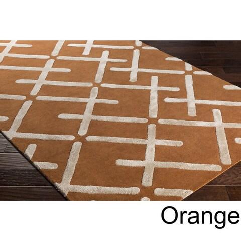 Carson Carrington Jakobsberg Hand-Tufted Wool Area Rug