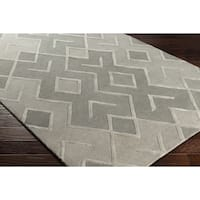 Hand-Tufted Tentrun Wool Area Rug (8' x 10')