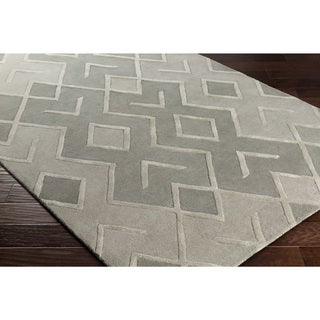 Palm Canyon Carob Hand-tufted Wool Area Rug (8' x 10')