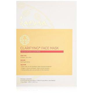 Karuna Clarifying Plus Face Mask (Pack of 4)