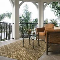 Signature Home Raynham Green Area Rug (7'10 x 10') - 7'10 x 10'