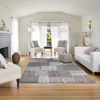 Signature Home Richland Multicolor Area Rug (5'3 x 7'4) - 5'3 x 7'4
