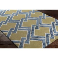Hand-Tufted Samara Wool Area Rug - 8' x 10'