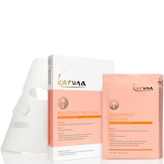 Karuna Brightening Plus Face Mask (Pack of 4)