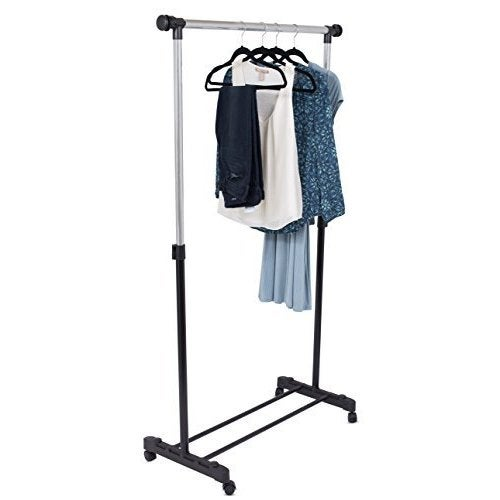 Shop Internets Best Portable Clothes Garment Rack Free Shipping On Orders Over