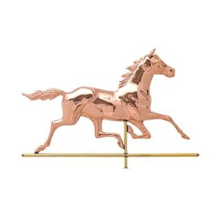 White Hall Polished Copper Horse Weathervane