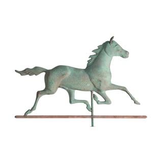 White Hall Verdigris Copper Horse Weathervane