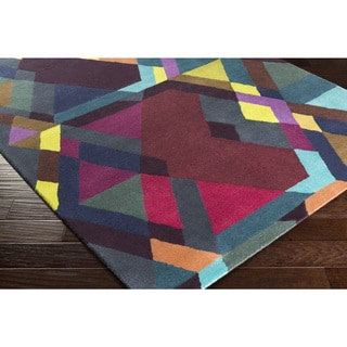 Hand-Tufted Dunbridge Wool - New Zealand Rug (8' x 11')
