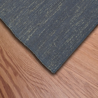 L and R Home Distressed Natural Indigo Indoor Area Rug (5' x 7'9)