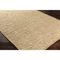 Pine Canopy Daisy Reversible Jute Area Rug - 8' x 10'