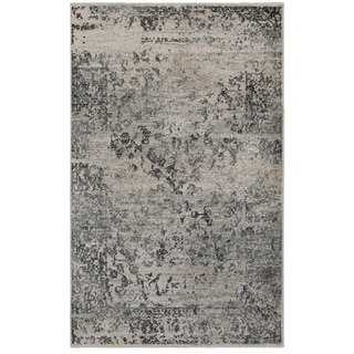 L and R Home Matrix Stone and Titanuim Indoor Runner Rug (2'1 x 7'5)