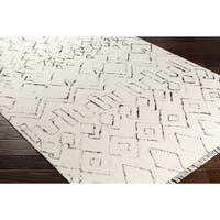 Hand-Woven Bannock Wool Area Rug (8' x 10')