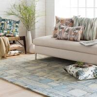 Palm Canyon Cassia Hand-tufted Wool Area Rug - 8' x 10'