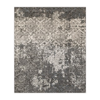 L and R Home Matrix Stone/Silver/Blue Olefin Indoor Area Rug (7'9 x 9'5)