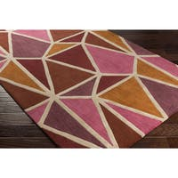 Palm Canyon Arroyo Hand-tufted Wool Area Rug