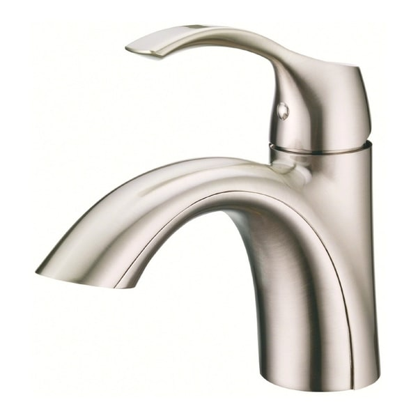 Shop danze antioch single hole bathroom faucet d222522bn brushed nickel free shipping today for Danze bathroom faucets reviews