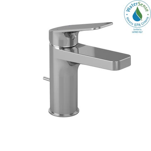 Toto Oberon S Single Handle 1.5 GPM Bathroom Sink Faucet, Polished Chrome (TL363SD#CP)