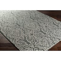 Hand-Hooked Jacey Wool Area Rug (8' x 10')