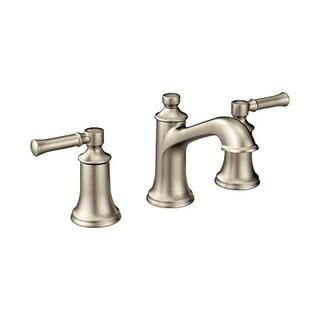 Moen Dartmoor Two-Handle Bathroom Faucet, Brushed Nickel (T6805BN)