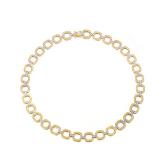 Collette Z Sterling Silver Gold-Plated Chain Necklace