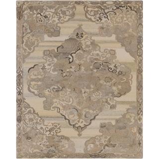 Hand-Tufted Lazurnaya Wool Area Rug - 8' x 10'