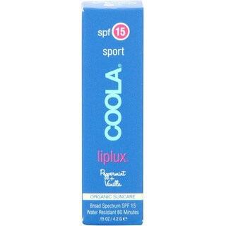 Coola Sport 0.15-ounce Liplux SPF 15