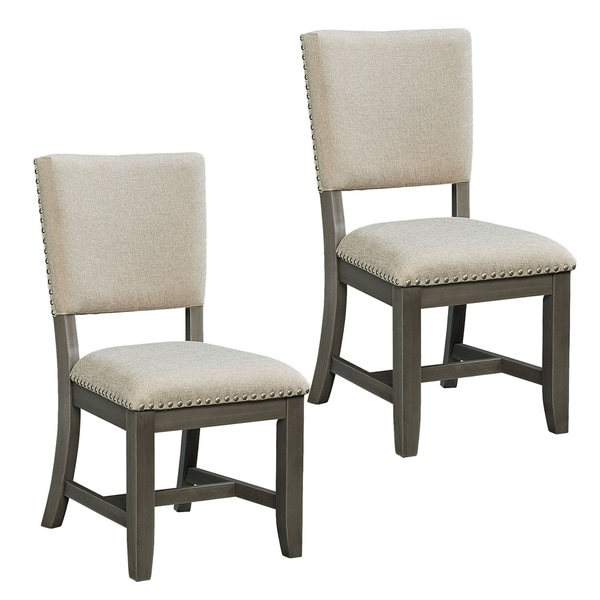 Outdoor Patio Furniture Omaha Ne: Shop Omaha Grey Upholstered Dining Chair